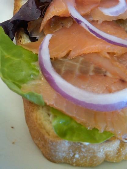 Smoked Salmon Sandwich 2