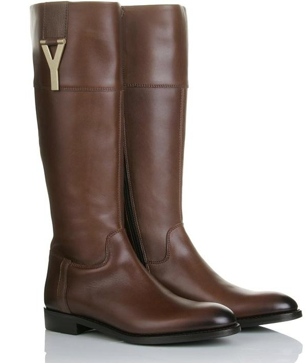 efe80d6fa40 YSL Riding Boots, Yes Please!   Solmaz In The City