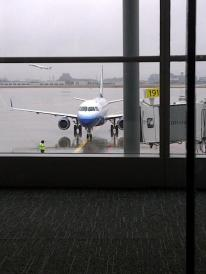 finally the plane is here!