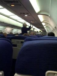 flight #2, 3hrs late & wrong seating assignment