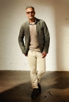 Club Monaco Spring 2011 Mens Monroe Blazer, Kane Linen Crewneck, Reece Washed End on End Shirt, Williams Pocket Tee, Slim Fit Jean