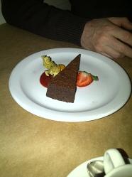 Lolo Restaurant - Belgian chocolate torte