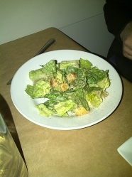 Lolo Restaurant - Caesar salad (vegetarian)