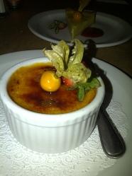 Lolo Restaurant - Crème brulee