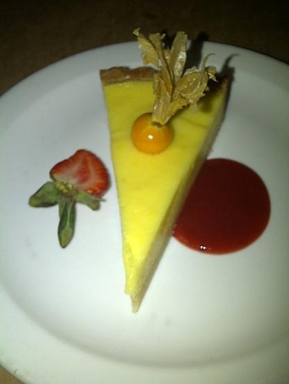 Lolo Restaurant - Lemon tart