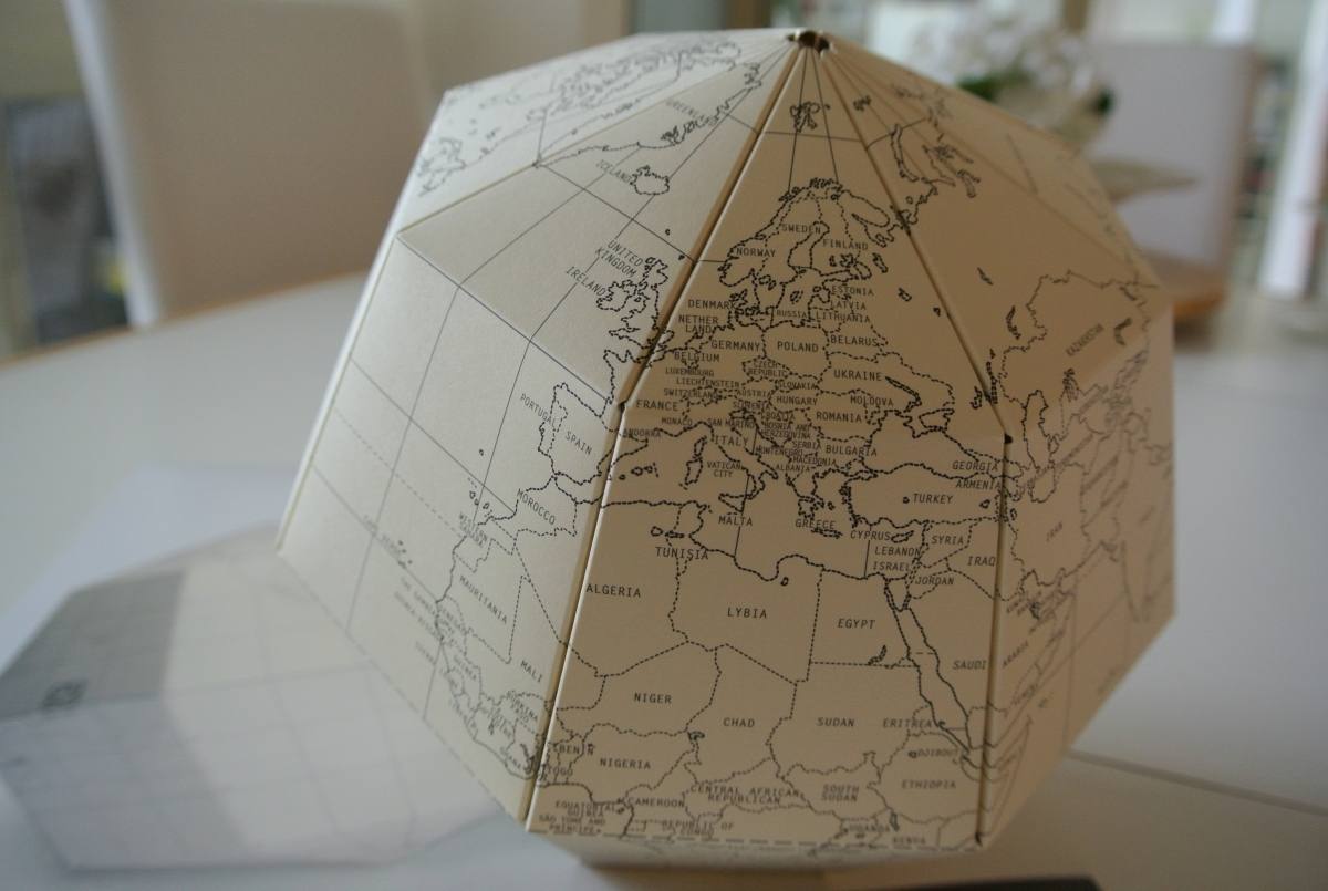 Sectional Globe by Geo-Grafia