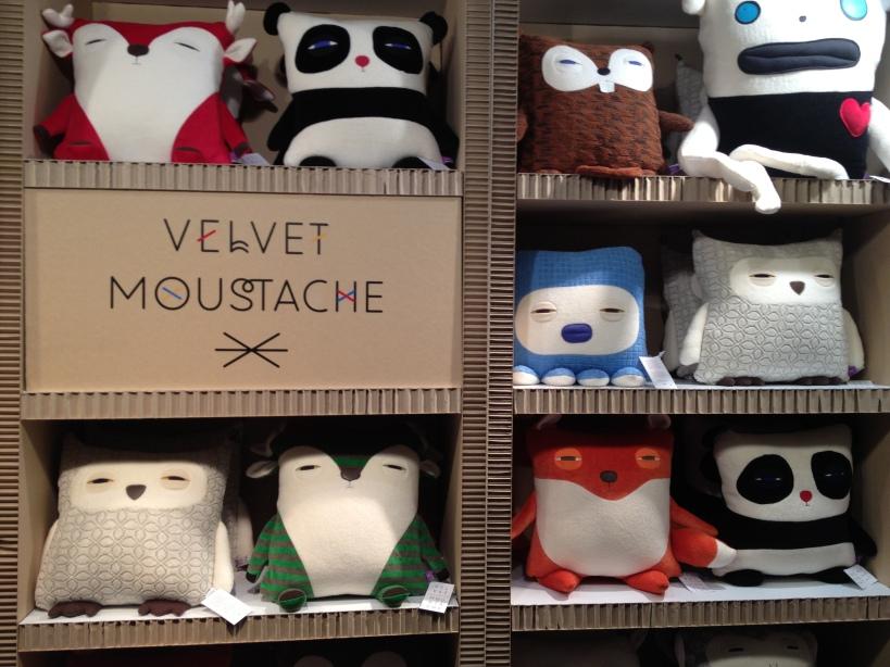 OOAKX12 Velvet Moustache