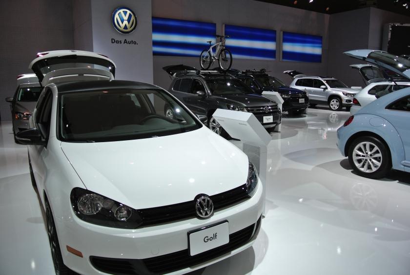 VW Autoshow Floor
