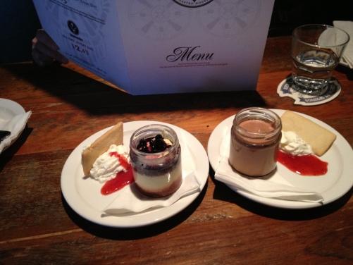 Prohibition Desserts
