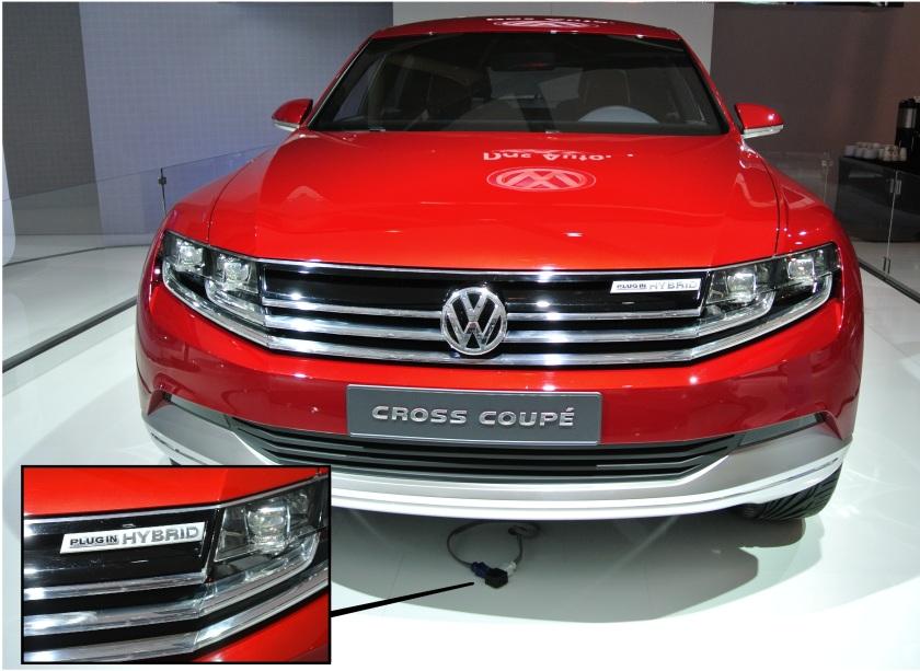 VW Cross Coupe Concept