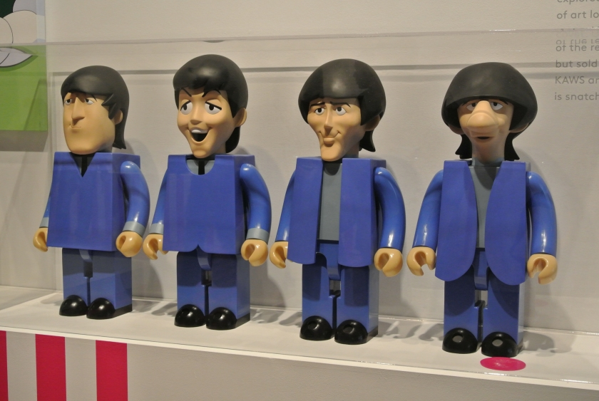 The Beatles Vinyl Toys