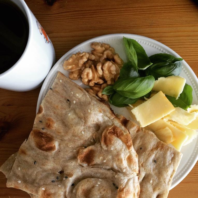 Persian rustic breakfast