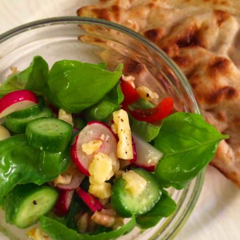 Persian rustic snack