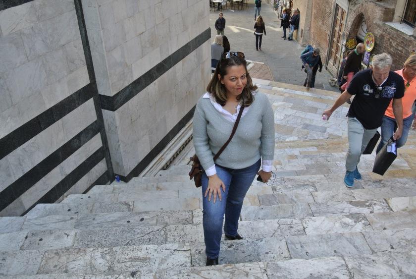 Siena Duomo stairs