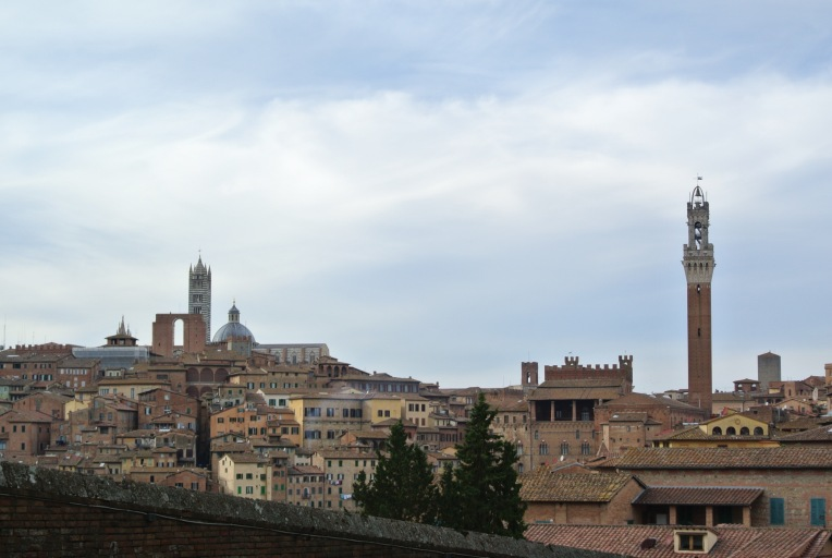 Siena from the distance