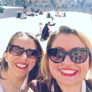 Sisters in Tuscany