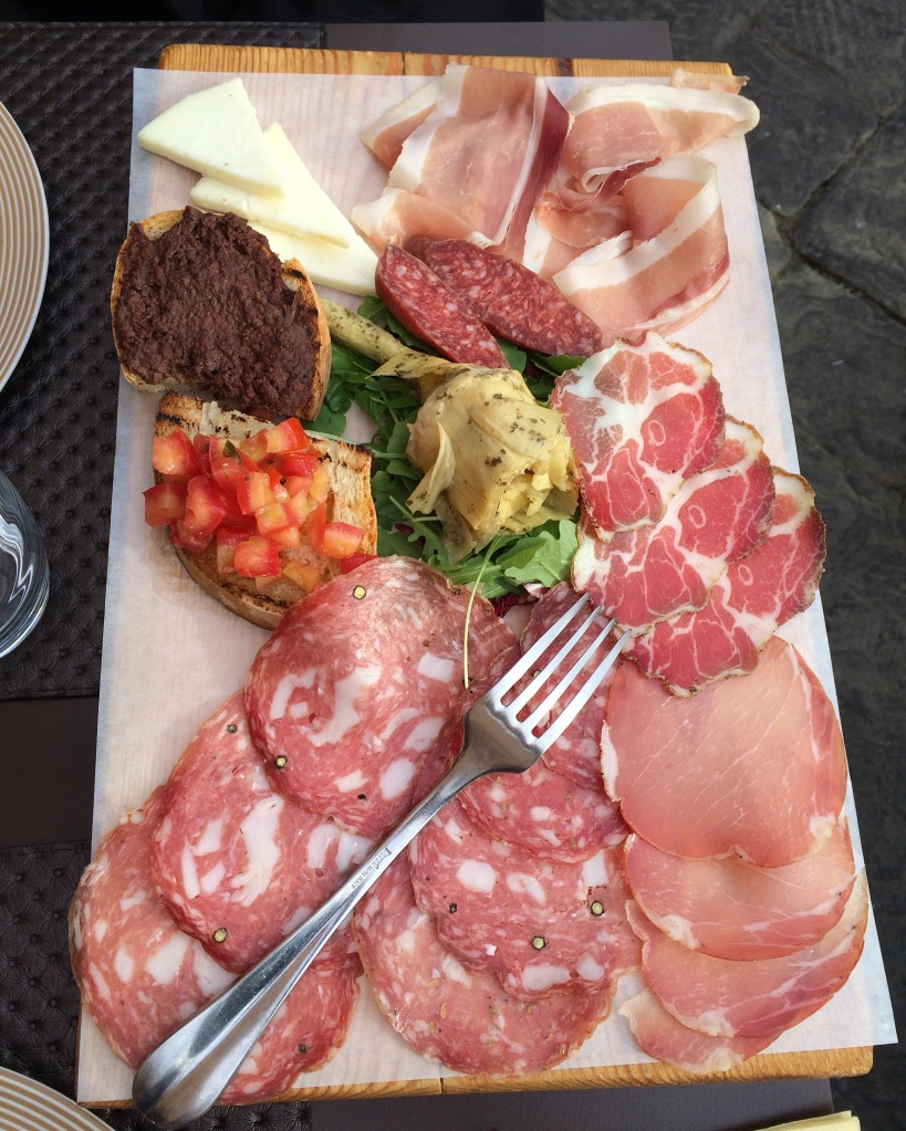 Assorted Tuscan cured meat