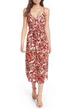 1. Midi Wrap Dress by HINGE