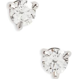 3. 0.33ct Diamond and Platinum Stuff Earrings by Kwiat