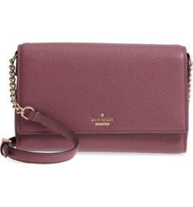 3. large oakwood street corin pebbled leather crossbody bag by Kate Spade New York