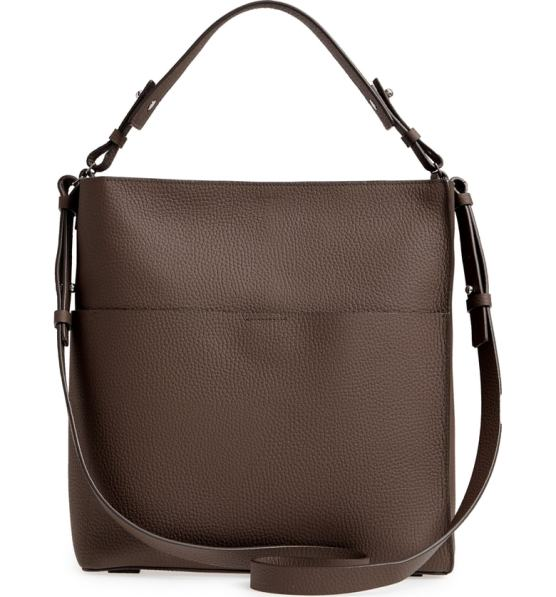 1. Mast Leather Shoulder Tote by Allsaints