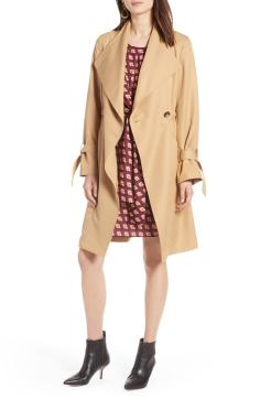 8. Tie Sleeve Trench Coat by HALOGEN®