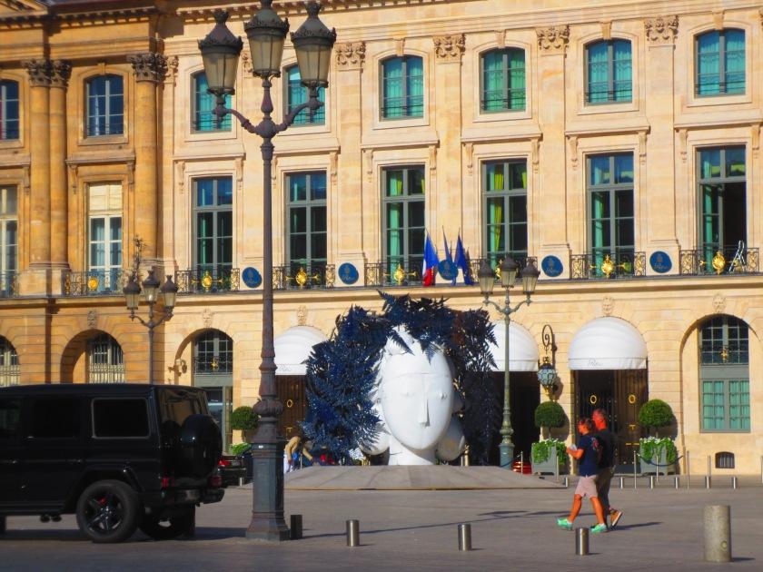 Paris Place Vendome exhibit