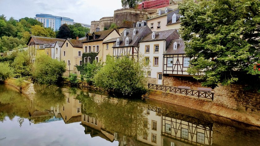 Luxembourg by the river