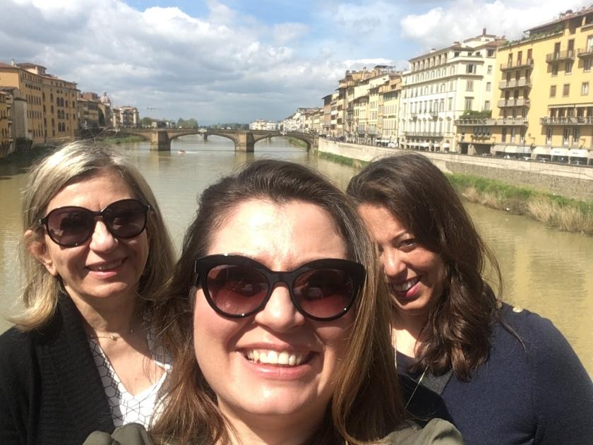 Family picture on Ponte Vecchio