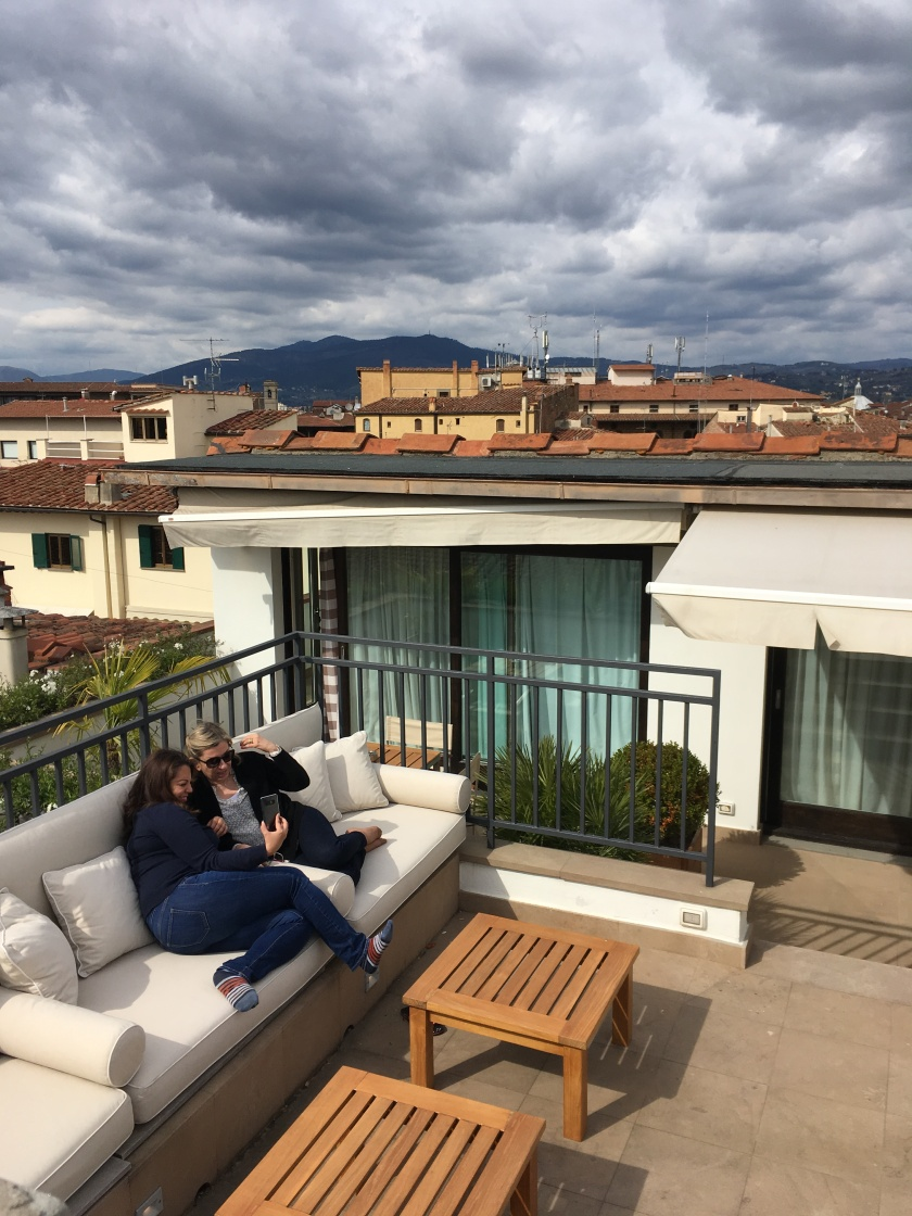 Pitti Penthouse terrace