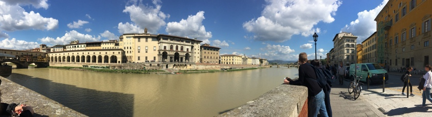 Florence by Arno river