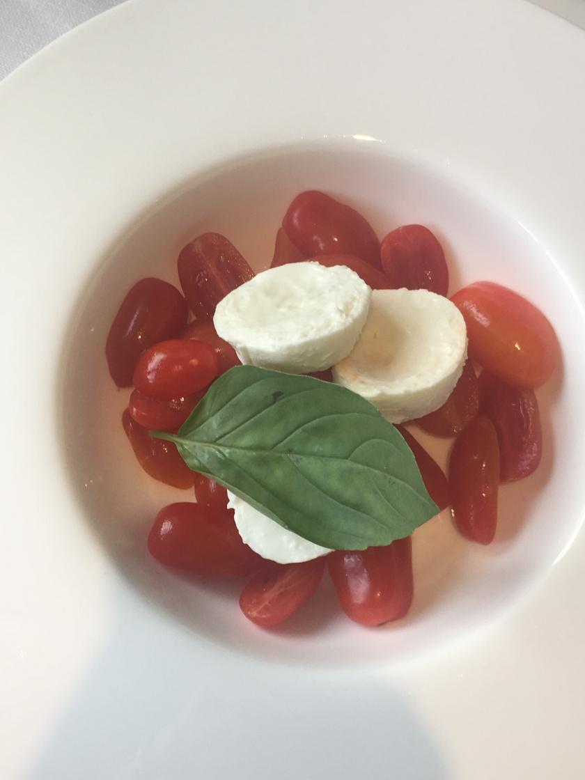 Picteau Cocktail Bar - Tomatoes and Mozzarella Salad