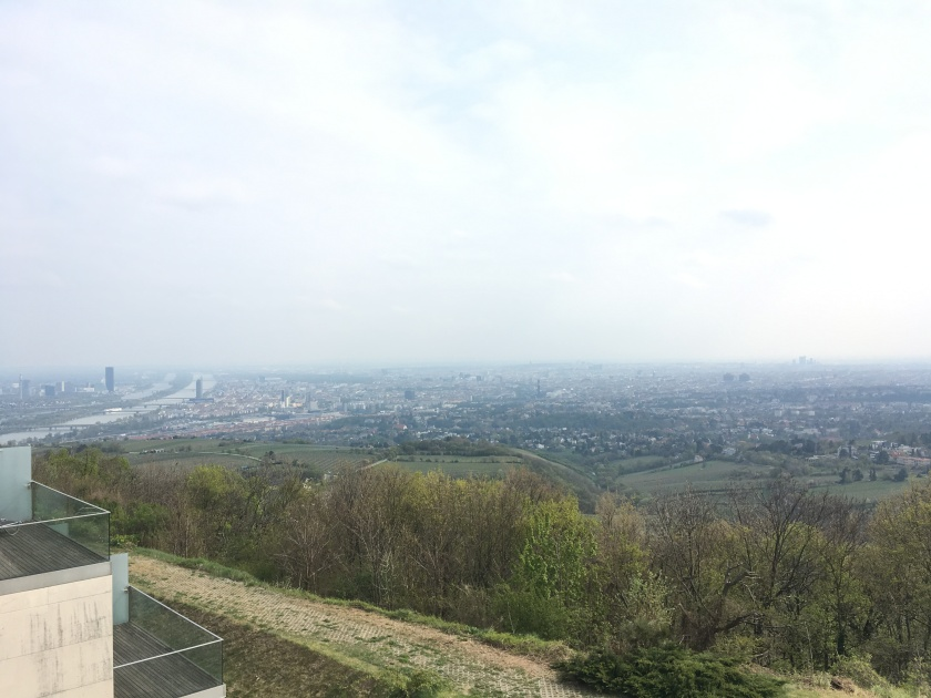 Kahlenberg Vienna City view