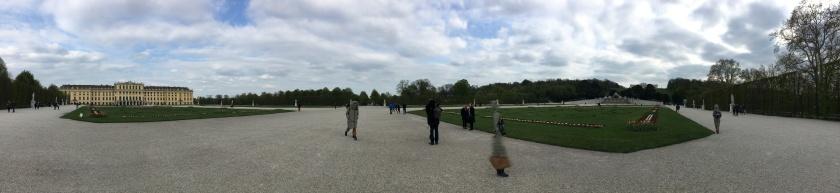 Schonbrunn Palace Vienna Autria